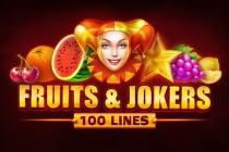 Fruits & Jokers 100 lines